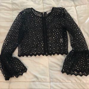 LF crochet top